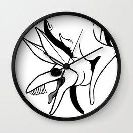 Gilles de Rais - OFF game design Wall Clock