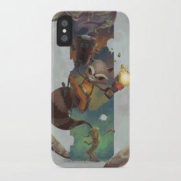 Rocket & Grooot iPhone Case
