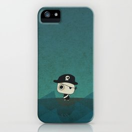 Small Pirate Captain iPhone Case