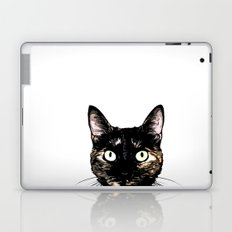 Peeking Cat Laptop & iPad Skin