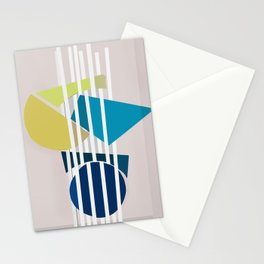Abstract Composition 488 Stationery Cards