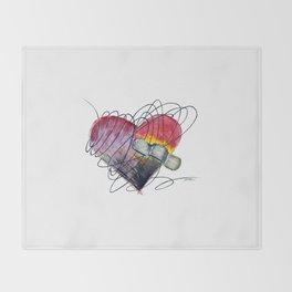 Art Ache Throw Blanket