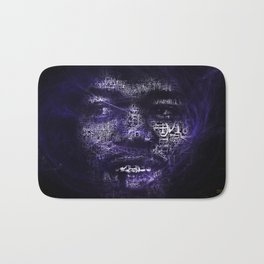 Wind Cries Mary Smoke Bath Mat