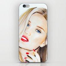 rosie huntington whiteley  iPhone & iPod Skin