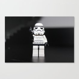 Stormtrooper_Toy Canvas Print