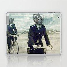 Cybermen on bikes Laptop & iPad Skin