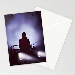 Vintage 80s car poster - the equalizer. Stationery Cards