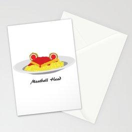 Sailor moon meatball head Stationery Cards