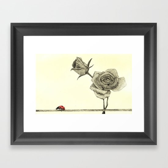 Journey Of A Thousand Miles Framed Art Print