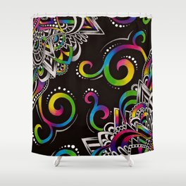 Doodle Magic Shower Curtain