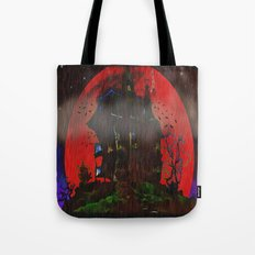 There Was a Crooked House - 055 Tote Bag