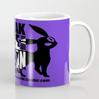 umbreon Mugs featuring Gary's Umbreon by interesting oak