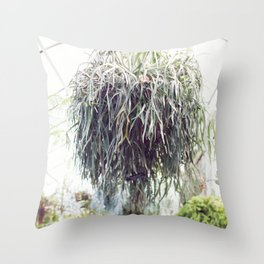 The Staghorn Throw Pillow
