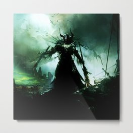 final battle Metal Print