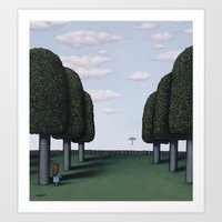 The First To See It Art Print