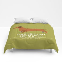 Dachshund (Smooth) Comforters