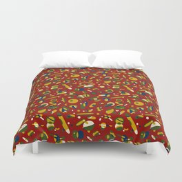 Bloody Mary Duvet Cover