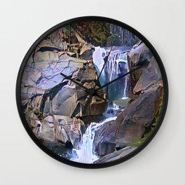 Waterfall, North Fork Kings River, California. Wall Clock