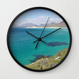 Beach 3 Lewis and Harris 5 Wall Clock