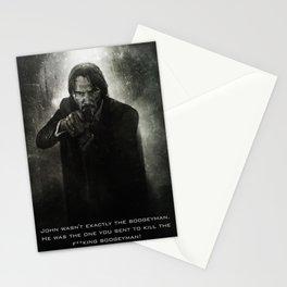 John Wick Stationery Cards
