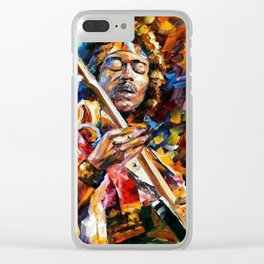 Halo Jimi Clear iPhone Case