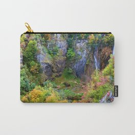 Mountain Valley In Autumn Carry-All Pouch