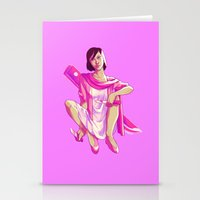 fight Stationery Cards featuring Fight by marsdotnet