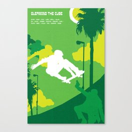 80s TEEN MOVIES :: GLEAMING THE CUBE Canvas Print