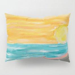Sunset on the Beach Pillow Sham