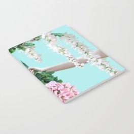 1992 Floral Episodes (Aqua) Notebook