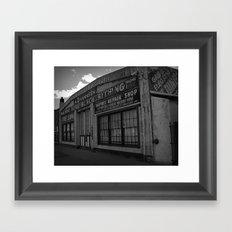 Old Repair shop Framed Art Print