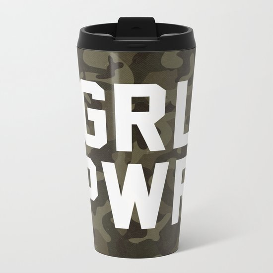 GRL PWR Metal Travel Mug