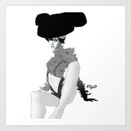 Ole Paulina Art Print