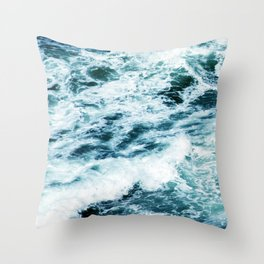 Through the Valley of the Shadow of Death Throw Pillow