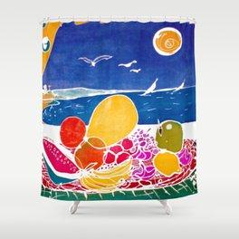 Fruit Bounty AUSTRALIA           by Kay Lipton Shower Curtain