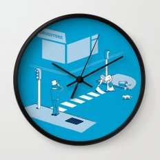 The life of An Old Vagrant Wall Clock