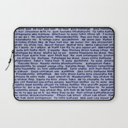 100 Ways To Say I love You For Him Laptop Sleeve