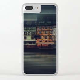 Night Strasbourg Clear iPhone Case
