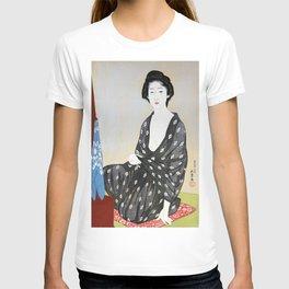 Woman in a Summer Garment T-shirt