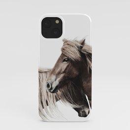Horses Print iPhone Case