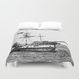 The Ship Duvet Cover