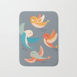 birds 4 Bath Mat