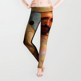Male Oil Nude Leggings