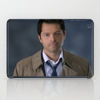 castiel iPad Cases featuring Castiel by Rousetta