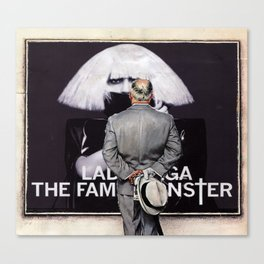 Considering Fame Canvas Print