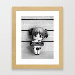 MADOKA LINEUP Framed Art Print