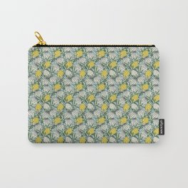 Leaves Protea (Yellow) Carry-All Pouch