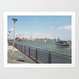 East River Ferry Art Print