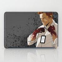 dexter iPad Cases featuring Dexter by Elena Casagrande