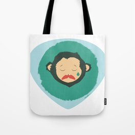 Sad Monkey-Bear Tote Bag